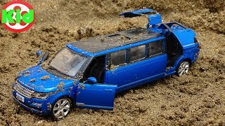 Siêu anh hùng tìm kiếm xe ô tô trong cát - đồ chơi trẻ em B1119V Kid Studio