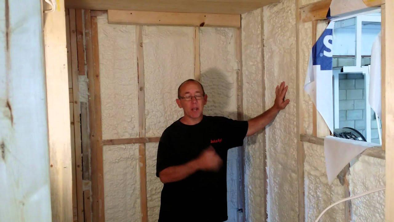 Spray foam insulation for house - Tiny House Spray Foam