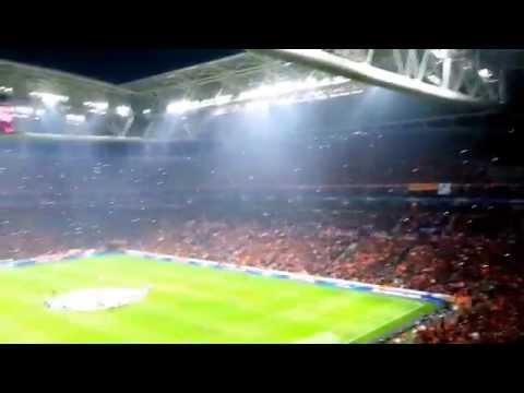 Worlds loudest football fans - Turk Telekom Arena