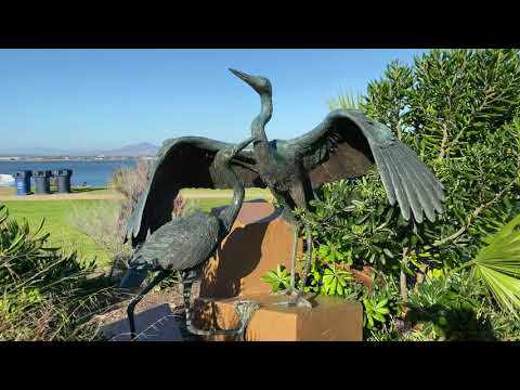 Sheltering Wings by sculptor Christopher Slatoff