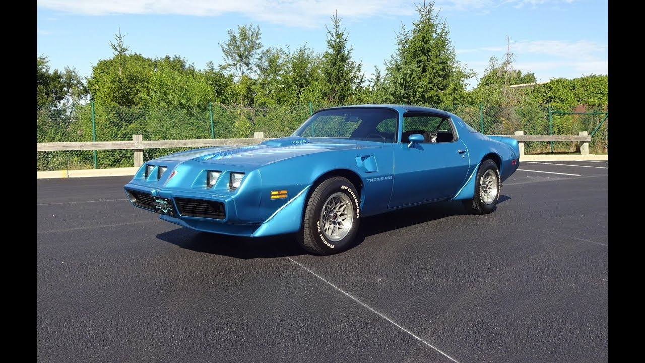 1979 Trans Am Picture 1979 Pontiac Trans Am In Atlantis Blue T A 6 6 Engine Sound On My Car Story With Lou Costabile