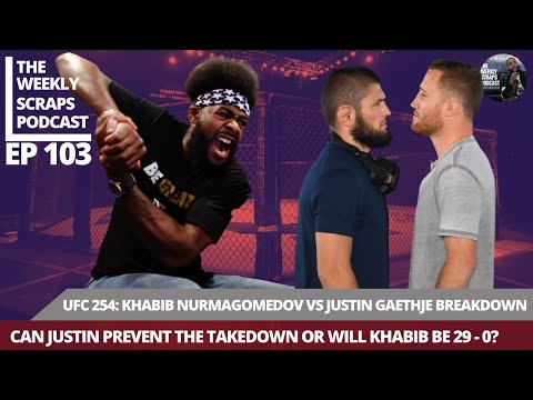 UFC 254 Khabib Nurmagomedov vs Justin Gaethje Breakdown With Aljamain Sterling | TWS Ep 103