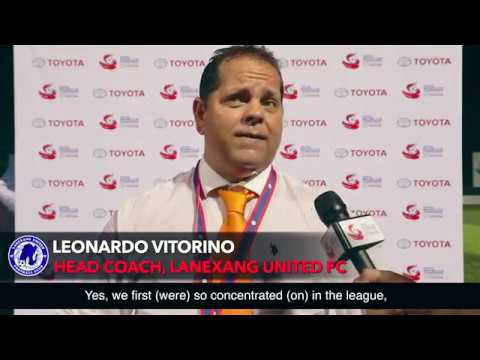 TMCC 2016 Interview with Leonardo Vitorino Head Coach for Lanexang United FC