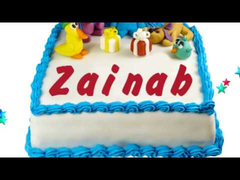 Happy Birthday Zainab YouTube