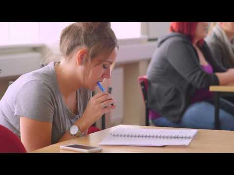 Study Creative & Professional Writing at the University of Derby