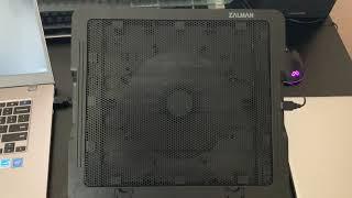 노트북 쿨러 잘만 ZM-NS1000 리뷰
