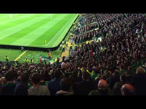 Celtic Fans | Having a party in the Champions League | Stadium Huddle