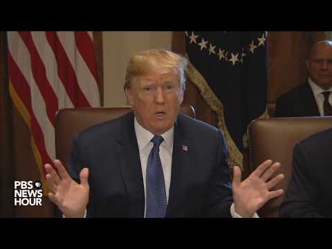 WATCH: President Trump talks NY truck attack, immigration at Cabinet meeting