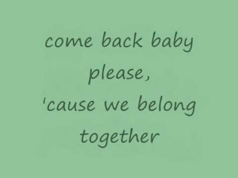 Mariah Carey - We Belong Together (lyrics on screen)