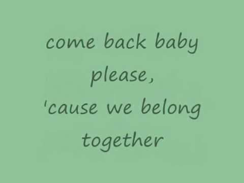 Mariah Carey - We Belong Together (lyrics on screen)