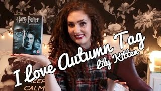 I LOVE AUTUMN/FALL TAG | November 2014 Favourites | Lily Kitten | Thumbnail