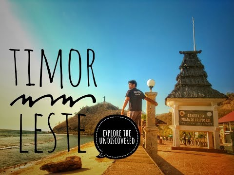 Travel Guide to Timor Leste with only $100 USD