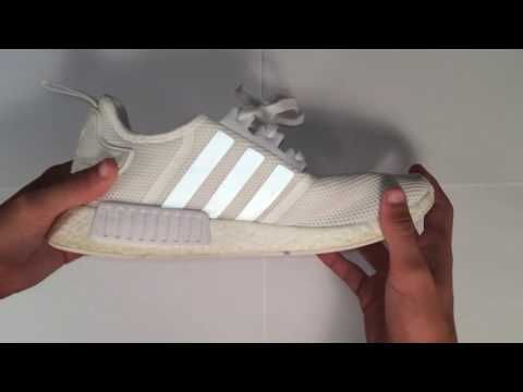 ADIDAS NMD BOOST RUNNER REVIEW + GIVEAWAY + HOW TO CLEAN