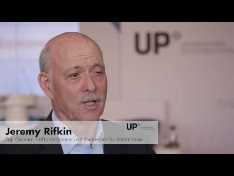 Jeremy Rifkin im Gespräch mit UP Nord