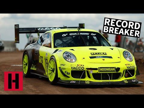 Hop Inside This 900-HP Porsche GT3 Cup Hillclimb Car as It Demolishes Pikes Peak