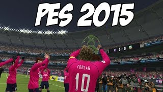 PES 2015: Gameplay, AFC Champions League Final, BUG ou GLITCH !? (Cerezo Osaka vs Bunyodkor)