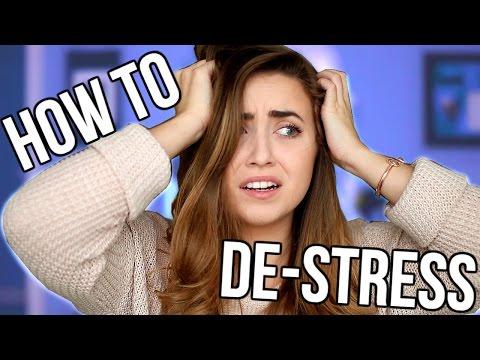 10 Ways to De-stress from School!