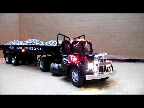 Mack LJ ballast hauler
