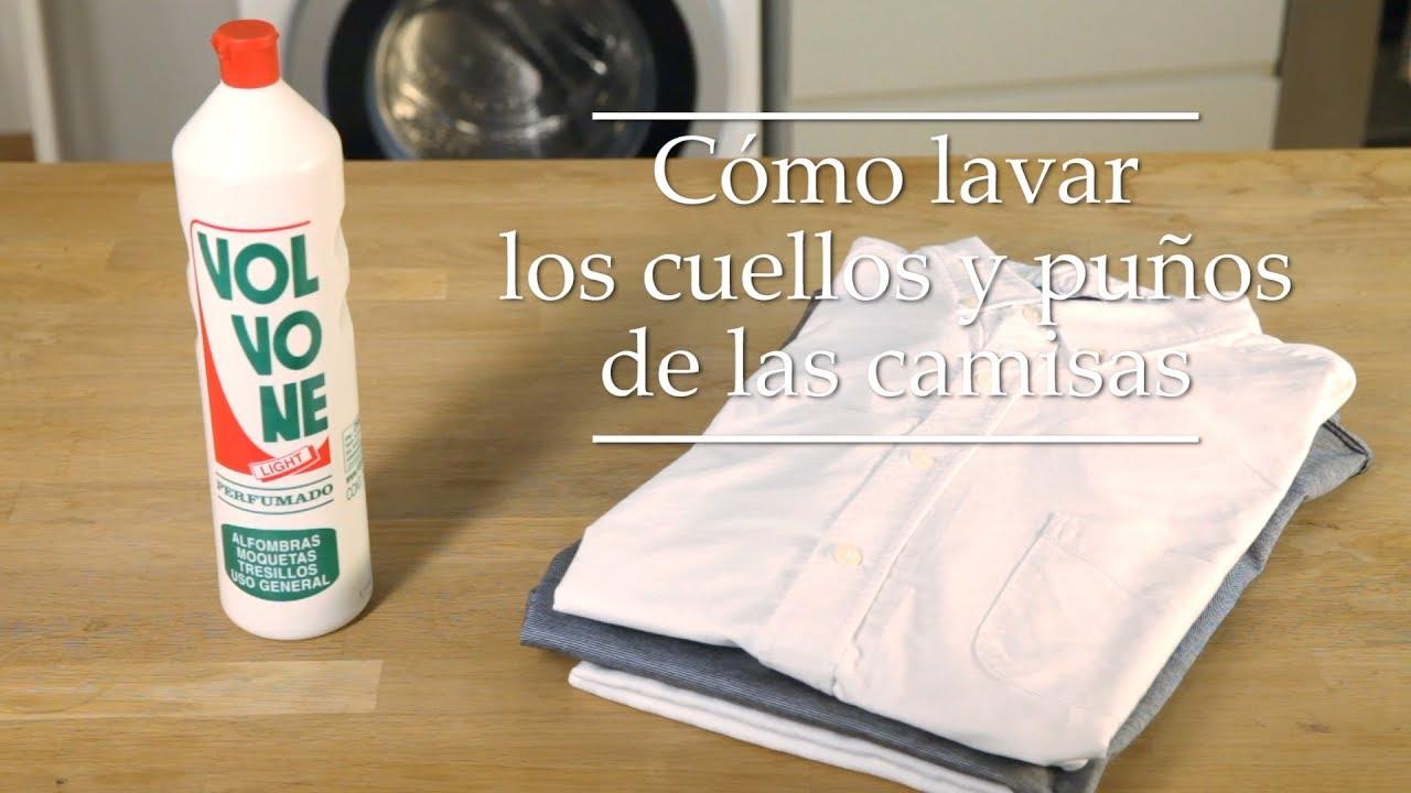 Cómo Lavar Los Cuellos Y Puños De Las Camisas Hogarmanía Volvone Amoniacal Youtube