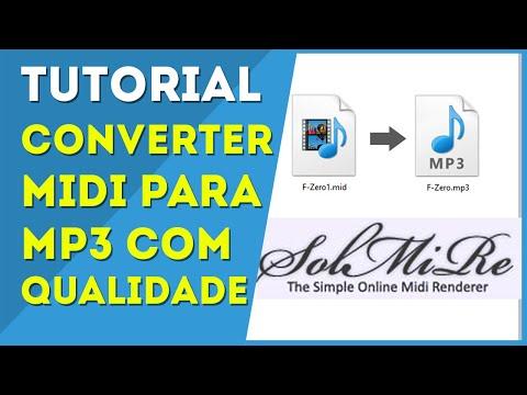 Converter MIDI para MP3 - RPG Maker