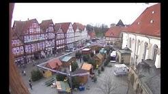 Webcam-Film: Aufbau Weihnachtswäldchen 2015