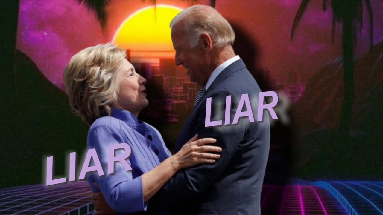 Creepy Joe Biden & Crooked Hillary: Corrupt, Dishonest, Democrat, Dopplegangers - #TFNOriginal