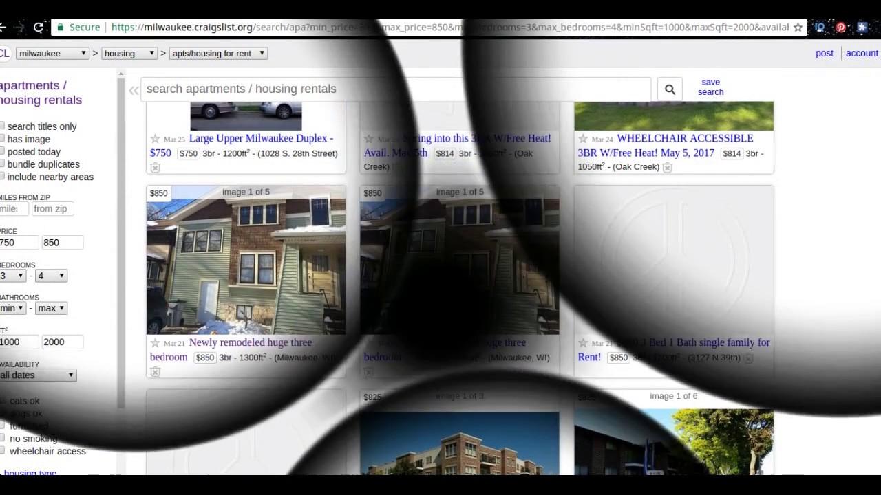 Craigslist Rental Scams   Craigslist Home For Rent Property Scams   Homes  For Rent On Craigslist