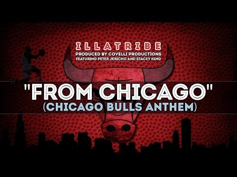 """""""From Chicago"""" (Chicago Bulls Anthem) by Illatribe - Derrick Rose and Jordan Highlights"""