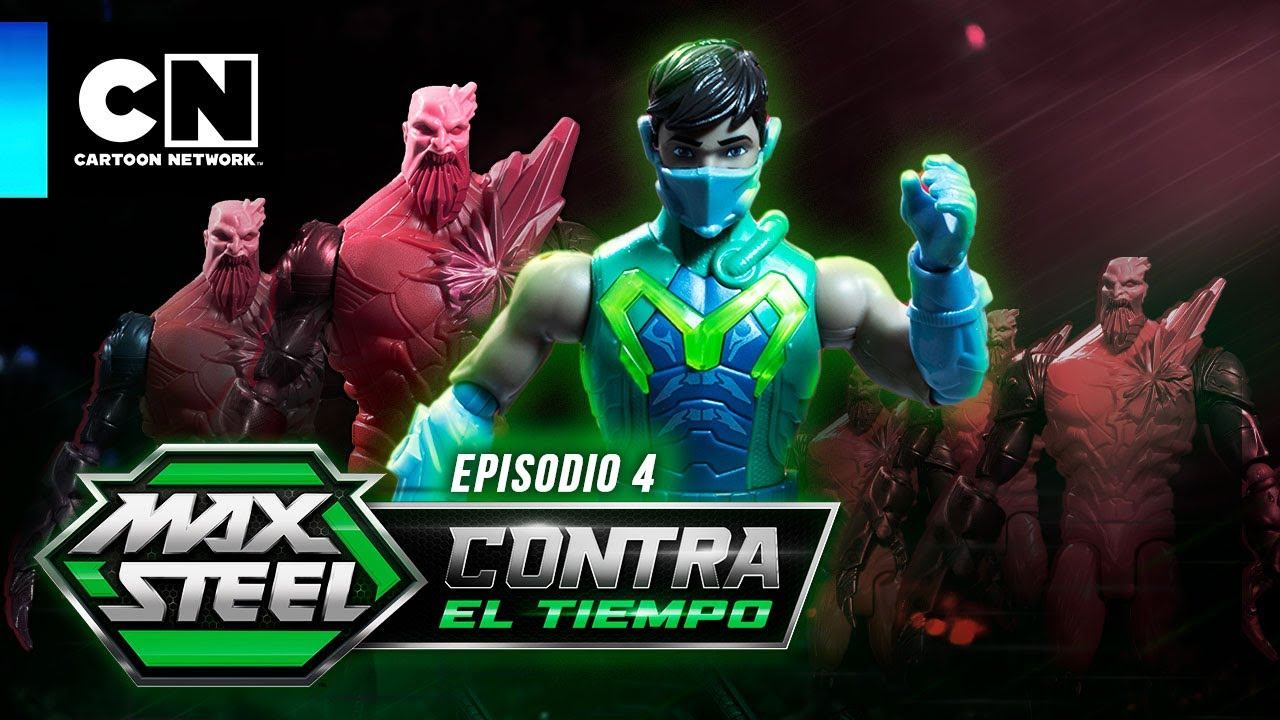 MAX STEEL: CONTRA EL TIEMPO| EL MAESTRO DEL DISFRAZ - EPISODIO 4 | Cartoon Network | ADS