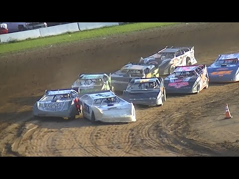 RUSH Crate Late Model B-Main | McKean County Raceway | Fall Classic | 10-10-15