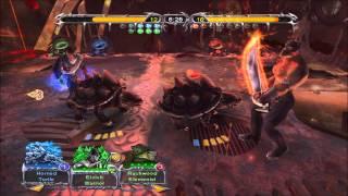 Magic The Gathering Battlegrounds - Gameplay (Blue/Green)