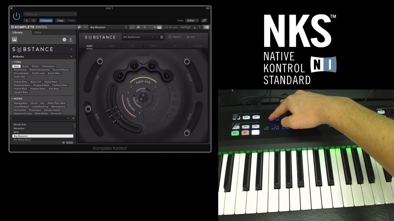 Using NKS third party plugins with Native Instruments Komplete Kontrol  Keyboards