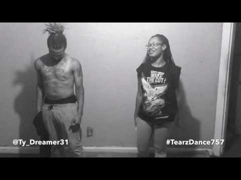 K. Young - Lay You Down #TearzDance757 Slow Grind Improv Duet