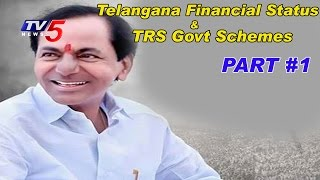Debate on Telangana Financial Status & TRS Govt Schemes | News Scan #1 | TV5 News