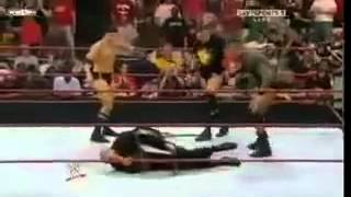 Repeat youtube video Randy Orton Breaks Batista Arm