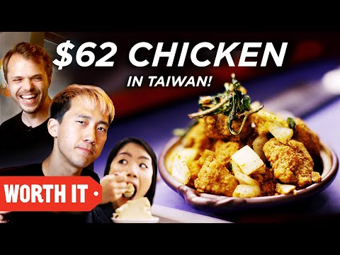 $3 Chicken Vs. $62 Chicken  Taiwan