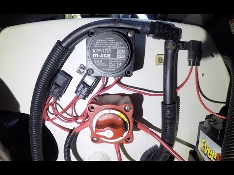 Yamaha FX Jet Ski Dual Battery Install With ACR and Dual Switch FXHO