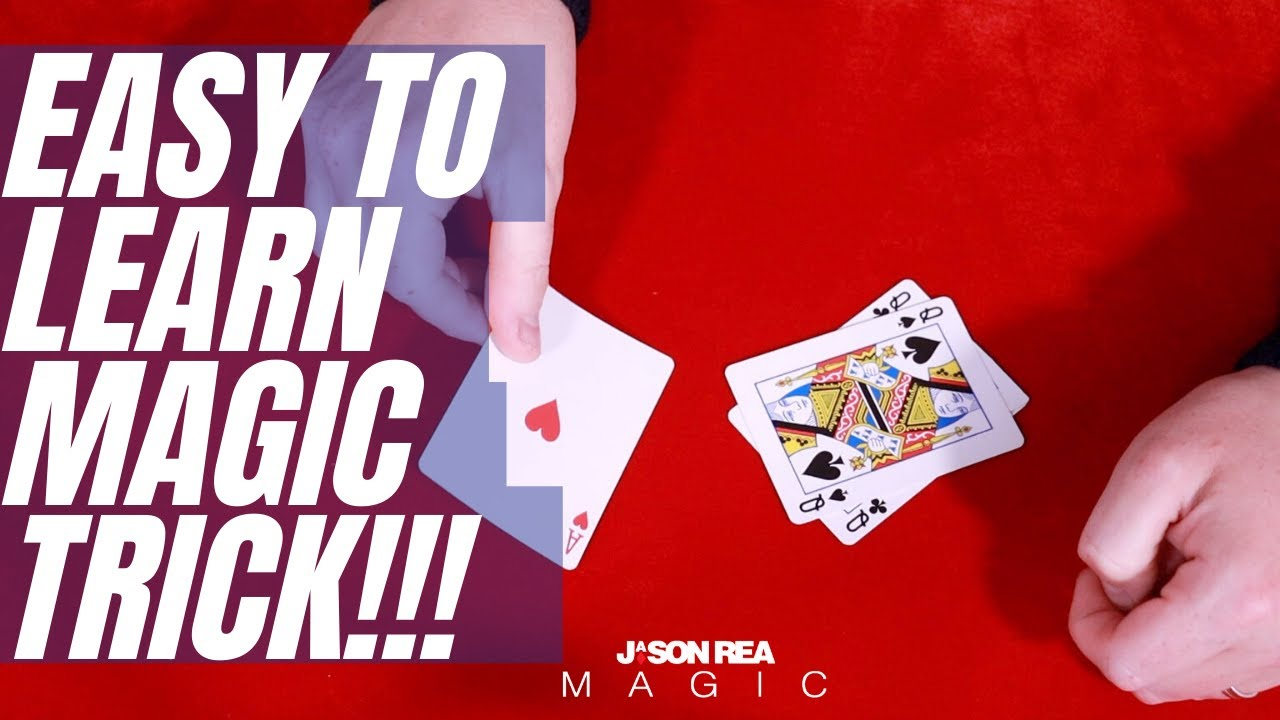 free learn an easy to do card trick  youtube