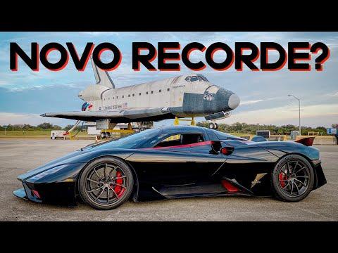 SSC Tuatara registra (agora sim) NOVO RECORDE MUNDIAL de velocidade: 282,9 mph = 455,2 km/h