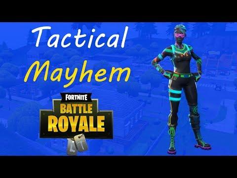 Tactical Mayhem!!! - Fortnite Battle Royale Gameplay - J4PRES