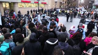 Laquan McDonald Protest in Downtown Chicago (December 9, 2015)