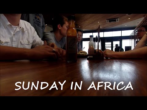 SUNDAY IN AFRICA