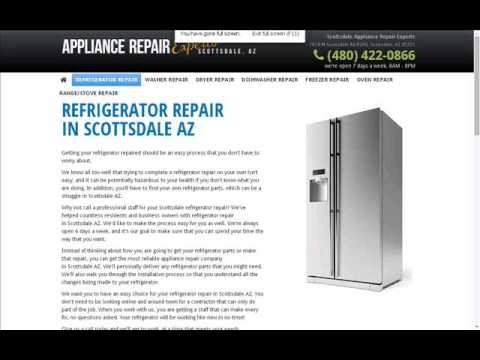 Scottsdale Appliance Repair Experts 480 422 0866 Youtube