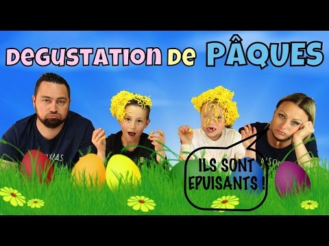 ♡• DEGUSTATION DE PÂQUES EN FAMILLE •♡
