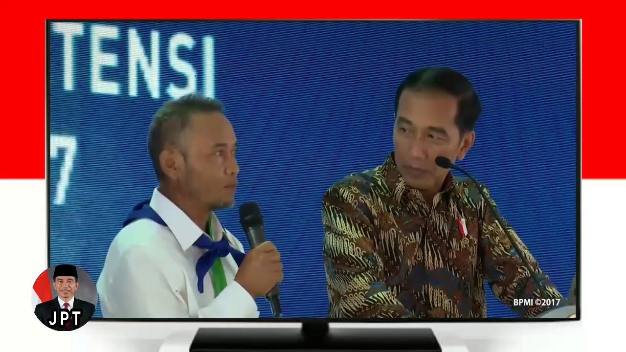 Penyerahan Sartifikat di bekasi Oleh Pak presiden Jokowi