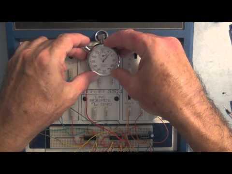 One-Shot or Monostable Multivibrator Digital Circuit