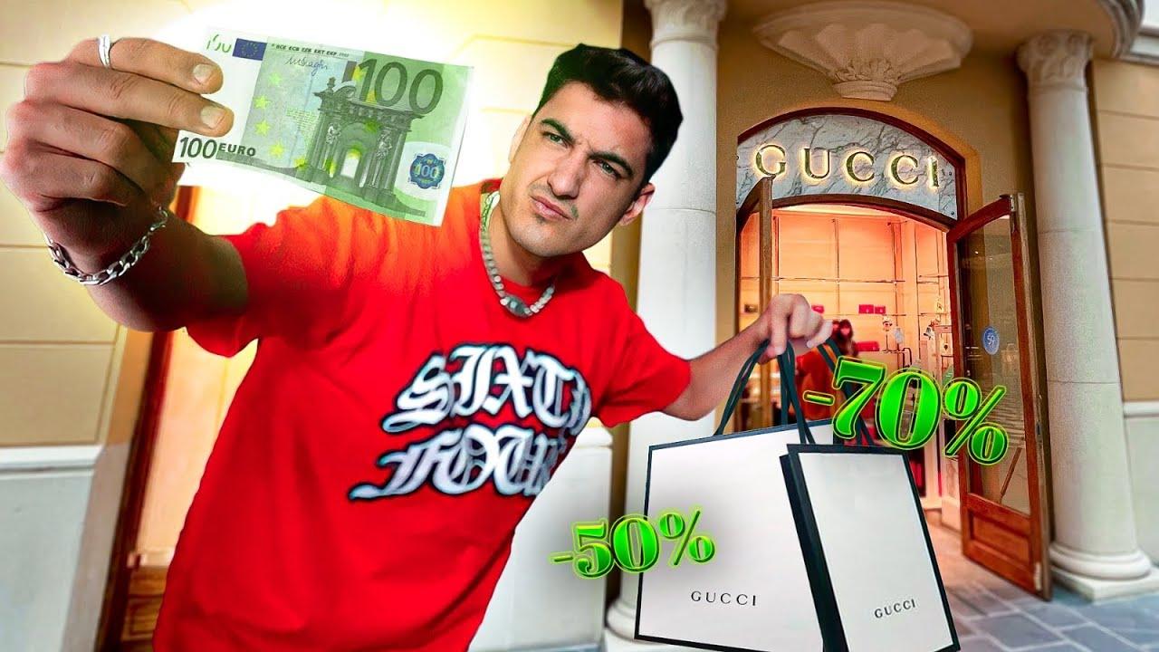 OUTLET de LUJO🛍💸 ¿QUE PUEDES COMPRAR con 100 EUROS?