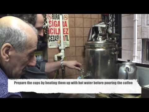 How to make traditional Turkish coffee