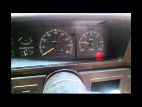 91 cold start, and fuel pump relay fix and diagnosis - YouTube
