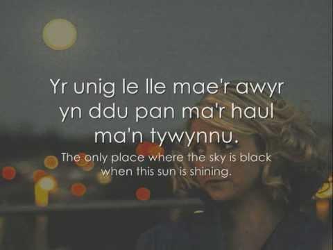 Aberaeron - Fflur Dafydd [geiriau / lyrics]